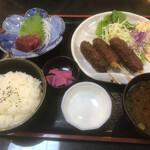 とりよし - ランチ 串カツ定食