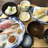 割烹 松活 - 料理写真:昼寿司上定食=1850円 税別 茶碗蒸し=100円 税別