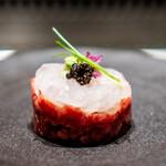 焼肉うしごろ - 富山県産白海老のタルタル