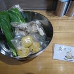 グータン - 麻辣湯(あさり・舞茸・青梗菜・がんも)中華麺