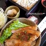 志生亭 - 料理写真:地どり丼セット