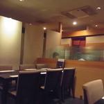 Jizakanaya - テーブル席がけっこうございます