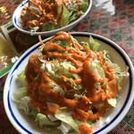 インド・ネパール料理 スナオール - 料理写真:サラダ
