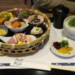 SNOOPY茶屋 - 伊勢路竹籠ご膳です☆ 2020-0108訪問