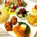 Vegetable Cafe Mahaloha - Mahalohaプレート
