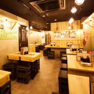 高級料理のイメージがある天ぷらを身近に味わえる大衆居酒屋です