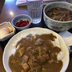 鹿林 - 料理写真:チキンカレーセット 1045円