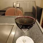 123238471 - 赤ワイン(ナパ ハイランズ)980円(税込) 202001