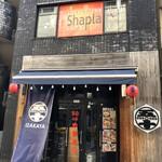 アジアご飯とお酒のお店 Shapla 神田店 - 外観。お店は2階