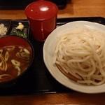 夢茶房 - カレーとり汁うどん(大盛)