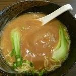 12324742 - フカヒレ姿あんかけ麺セット1380円(2012/04)