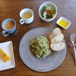 Green cafe ACB - ランチプレートパスタ