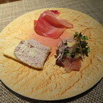 NISHIDERIA Buffa - ランチ 前菜3種盛り合わせ