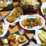 八剣伝 - 当店のコース料理の一部です。まだまだ食べきれないほどのお料理をご用意しておりますので、宴会をぜひ一度ご堪能下さいませ。