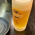 友食亭 あいびす - キンキン生ビール