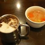 KINGS - スープとアイスコーヒー