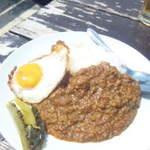 ふれあいの前浜海浜広場施設 ウィンディまいばま - 料理写真:キーマカレー