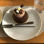 シンフラ - ガトーショコラ。                                 美味し。