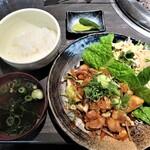 蔓牛焼肉 太田家 - ホメモン焼き定食