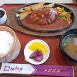 はまなす - 料理写真:Aランチ(ハンバーグ定食)(税込999円)