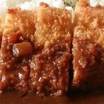 酒楽食家こいけ - カツカレーの豚カツ