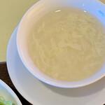 アイニーズ - セットのスープ