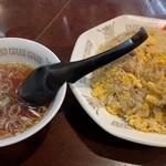 123258950 - 餃子&スープ
