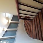 ラ・クチーナカフェ - 階段♪