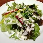 札幌牛亭 - シーザーサラダ(ディナーセット)