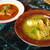 砂の岬 - 料理写真:クラブコロンブ、チキンコラップリー
