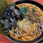 丸子家 - 担々麺から2+木耳(キクラゲ)