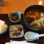レストランさくら - 料理写真:カレーうどんセット