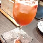 田町 鳥心 - 季節のサワー(苺)