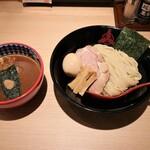 三田製麺所  - つけ麺 あつ盛り 三田盛りトッピング
