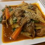 123Zo - 鴨肉と玉ねぎのサテトム煮