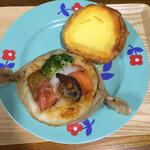 123274879 - 季節野菜とバジルとレモンケーキデニッシュ