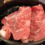 123275302 - 大きな霜降り肉^^