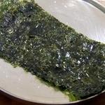 チャンチ - 韓国海苔です。