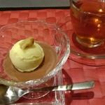 キュイジーヌ 福の舞 - 料理写真:自家製ショコラ アイスクリームを添えて
