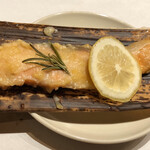 123286817 - 焼き物:銀鮭の西京焼き
