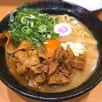 肉玉そば おとど - 極肉玉そば¥500 2016.7.11