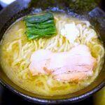 肉玉そば おとど - おとど流家系ラーメン¥650 2015.8.28
