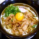 肉玉そば おとど - 肉玉カレーらーめん¥750 2014.12.18