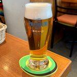 123290682 - 十六穀米タコライス(アルコールセット) ¥1,600 のビール