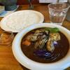 カレーリーフ - 料理写真:牡蠣と野菜のカリー1280円スリランカ風