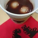 トラヤカフェ あんスタンド - あん汁粉