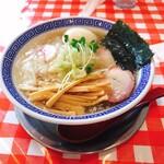 Men&shokudou nujibonbon newtype - 塩煮干しワンタン麺