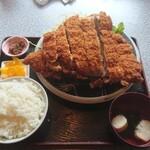 123296197 - スペシャルヒレカツ定食1300円