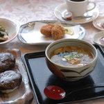 サロン・ド・懐古 - 料理写真:会津の伝統料理 和風スープセット(しんごろう) 1000円