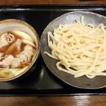つけ汁うどん 野澤 - 肉汁うどん